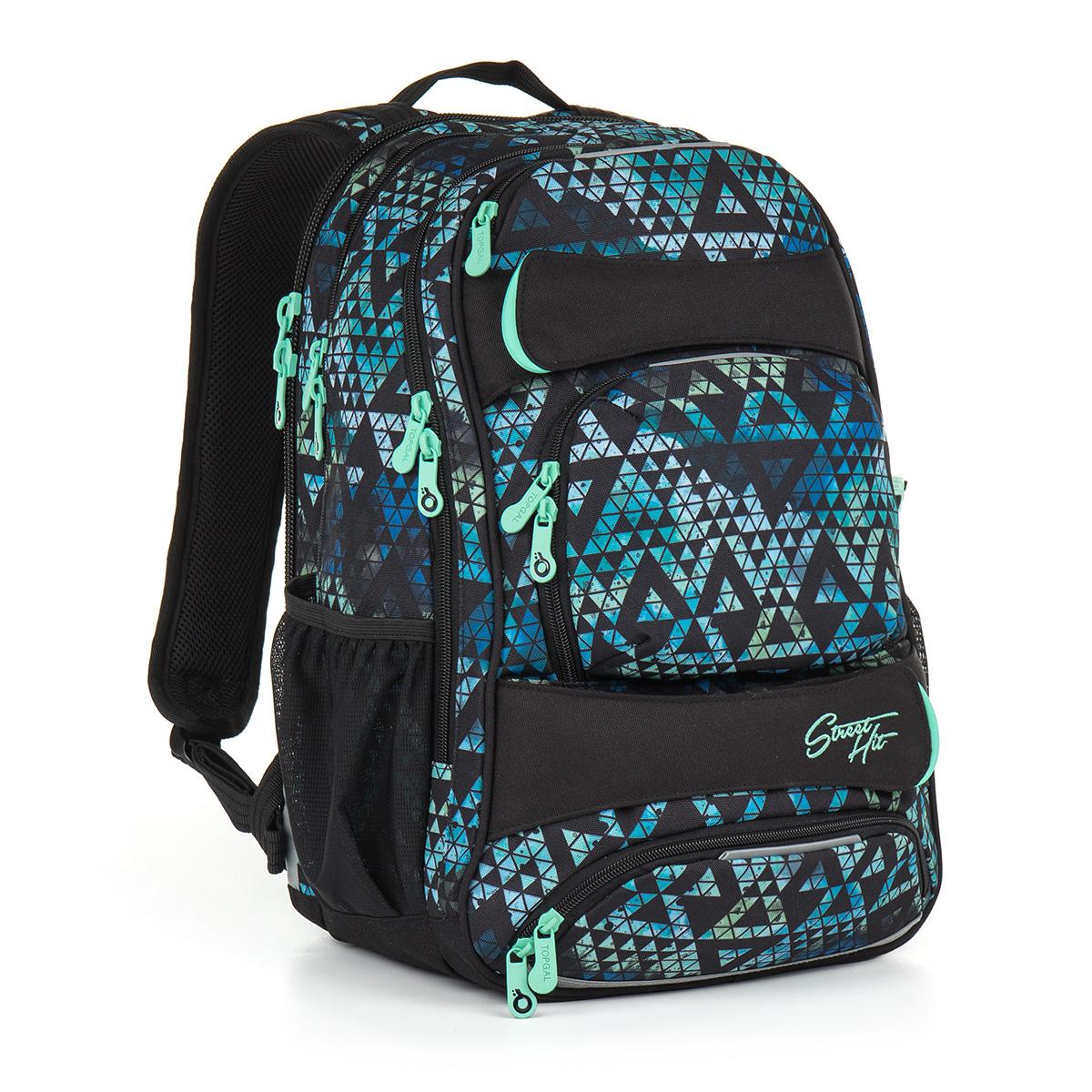 Topgal studentský batoh HIT 888 E - Green
