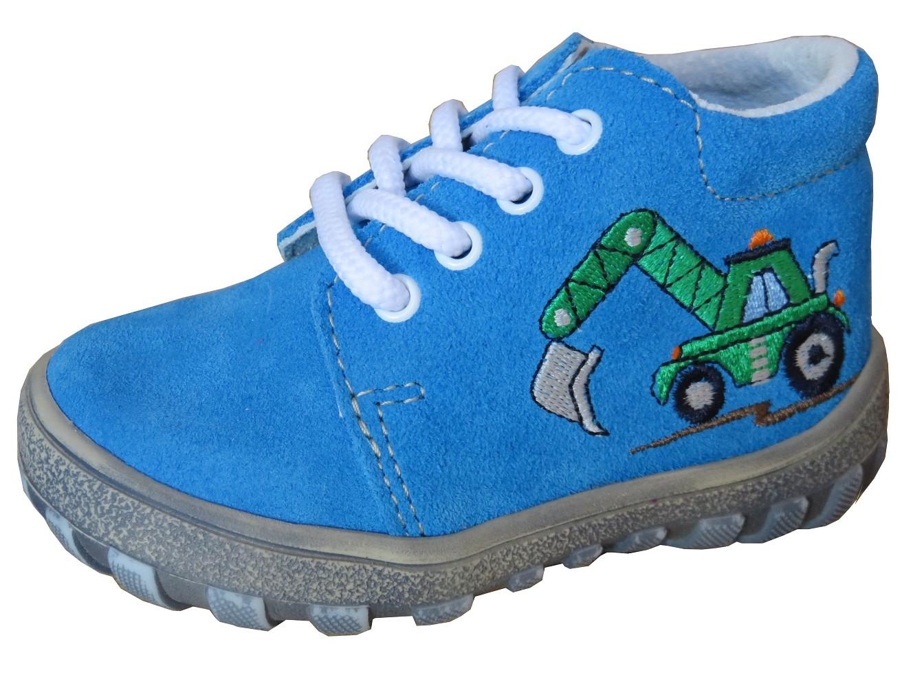 Dětské celoroční boty Jonap 022 bagr modrá Velikost: 22 (EU)