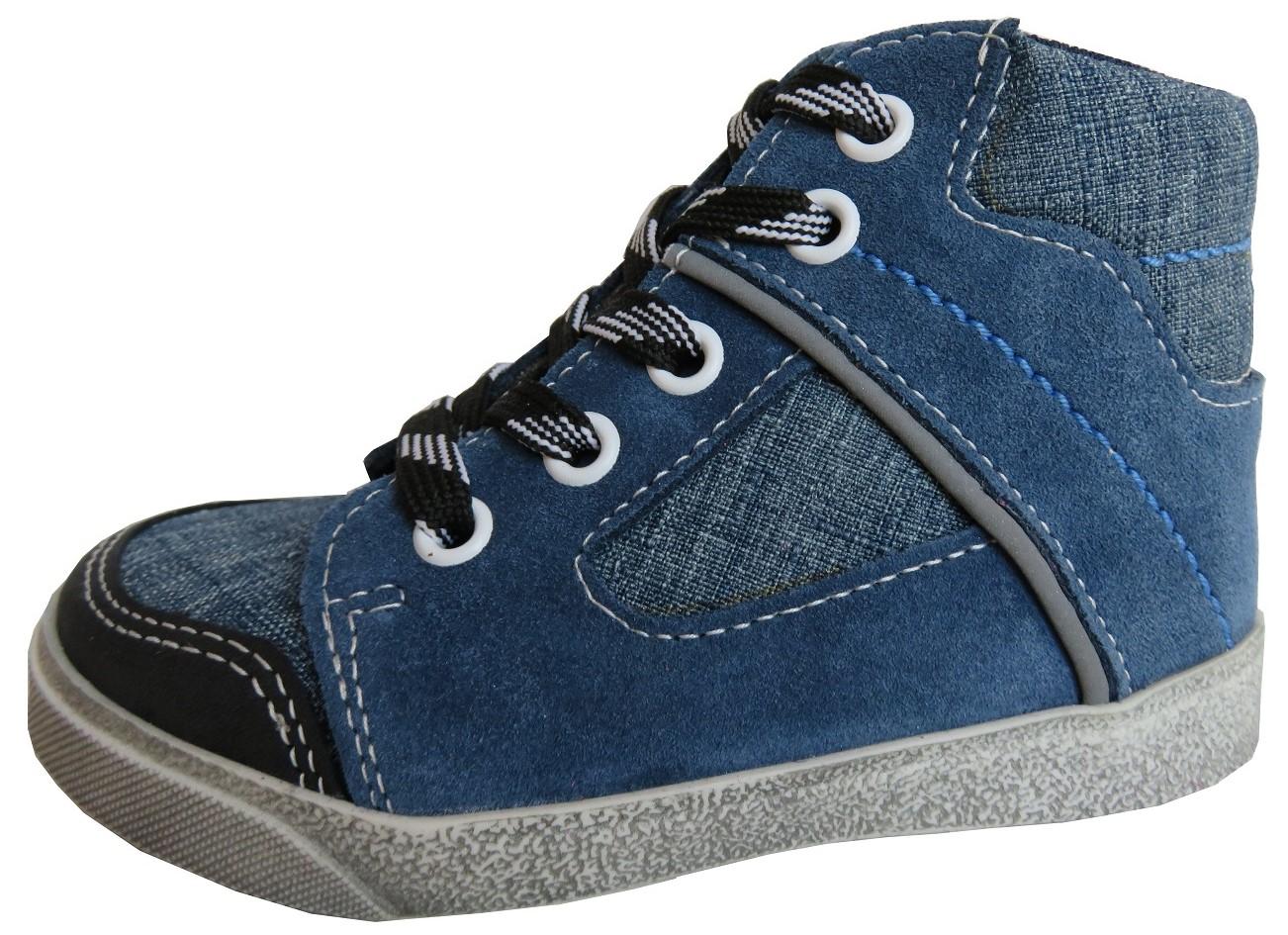Dětské celoroční boty Jonap 052 modré Velikost: 25 (EU)