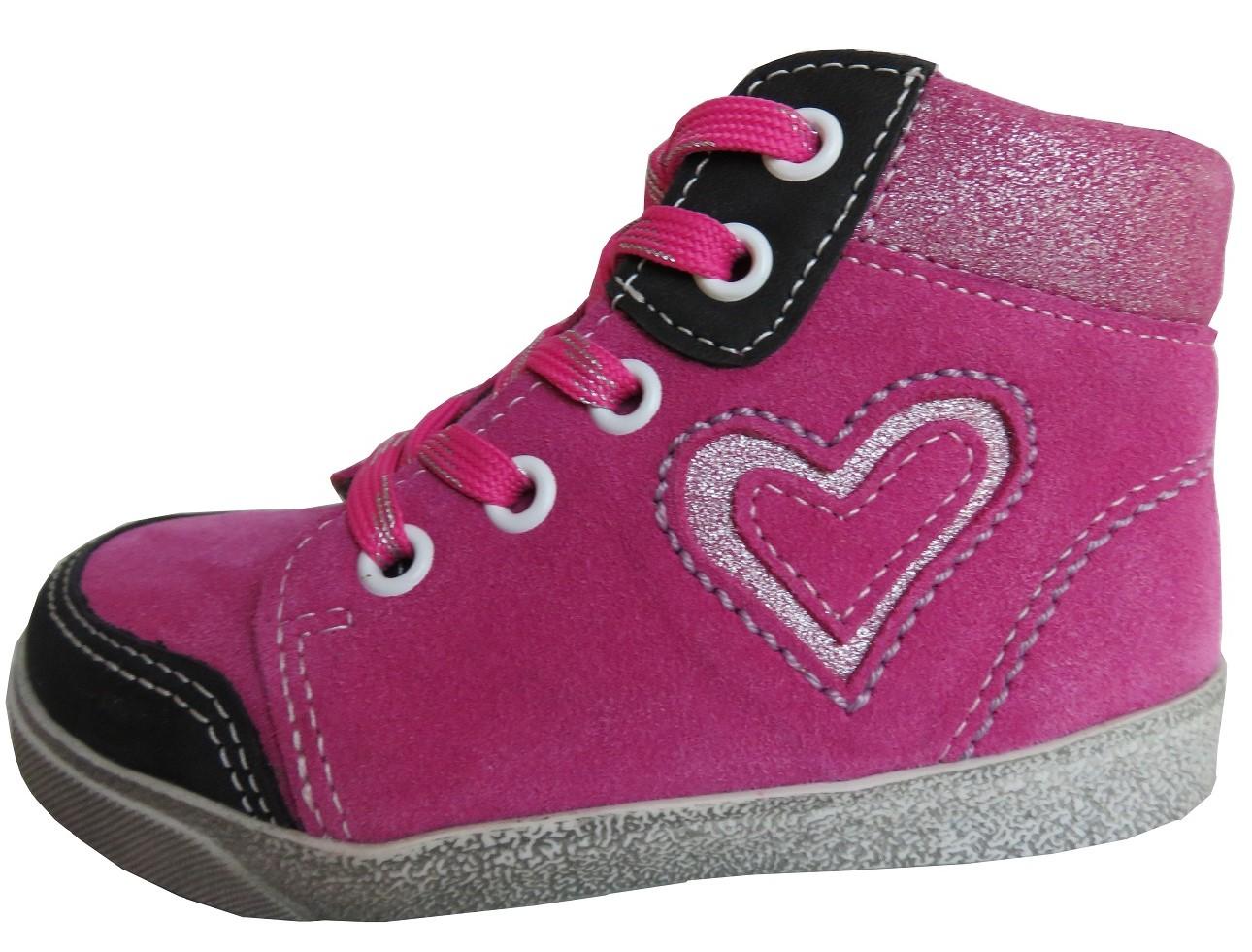 Dětské celoroční boty Jonap 052 růžové Velikost: 23 (EU)
