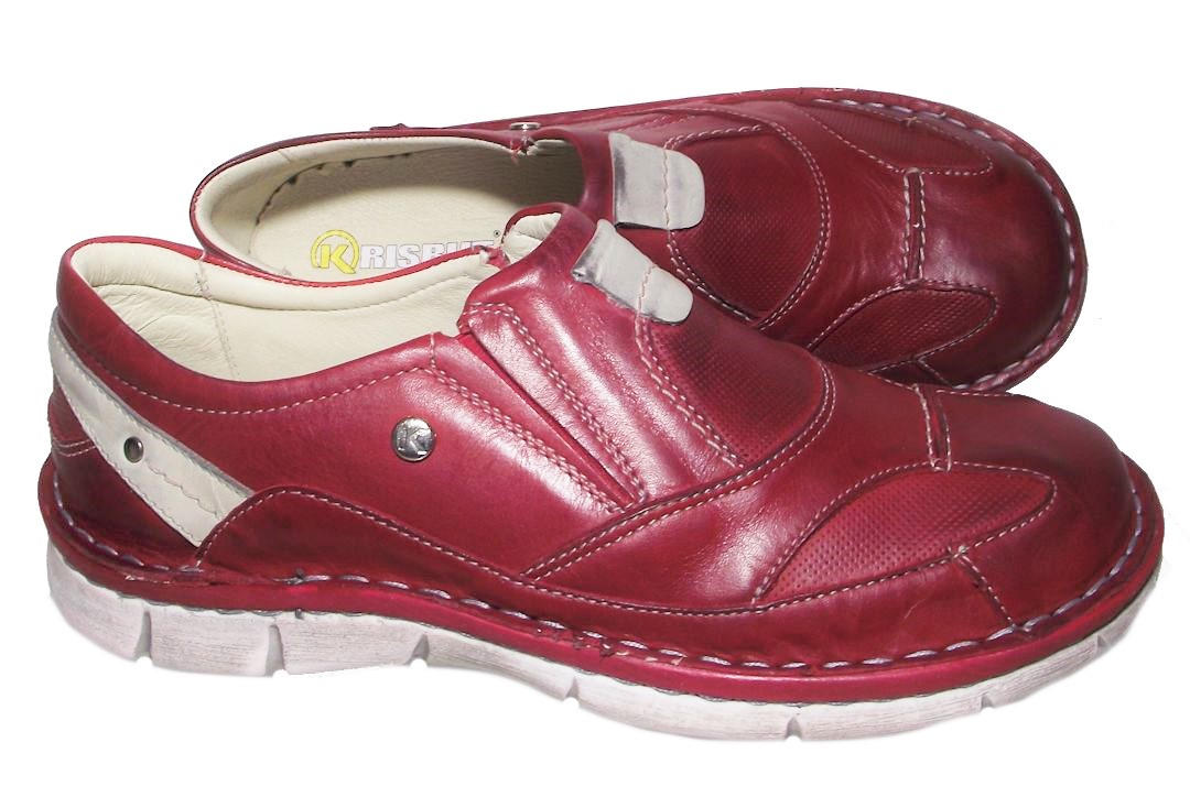 Dámská vycházková obuv Hilby 2189 červená Velikost: 36 (EU)
