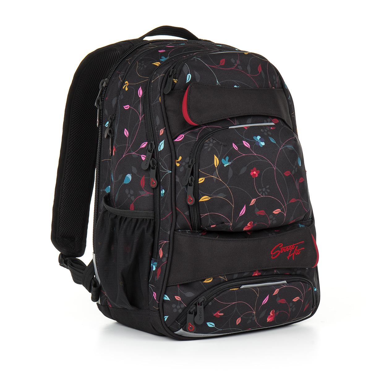 Topgal studentský batoh HIT 885 A - Black