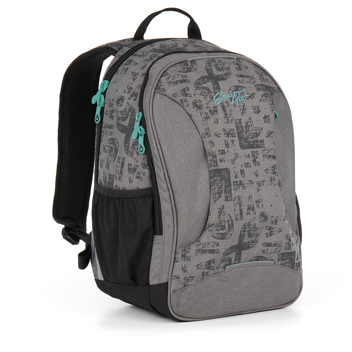 Topgal studentský batoh HIT 893 C - Grey