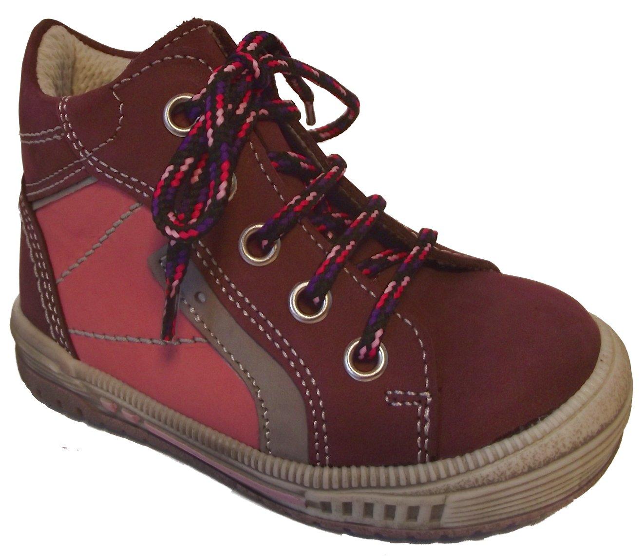 Dětské celoroční boty Essi S 2545 vínová Velikost: 24 (EU)
