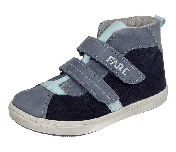 Dětské celoroční kotníkové boty Fare 819301 modré Velikost: 27 (EU)