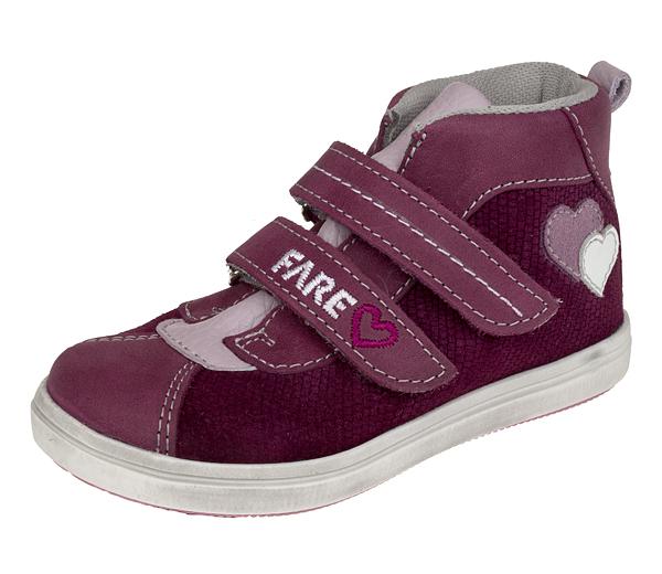 Dětské celoroční kotníkové boty Fare 819391 vínové Velikost: 27 (EU)