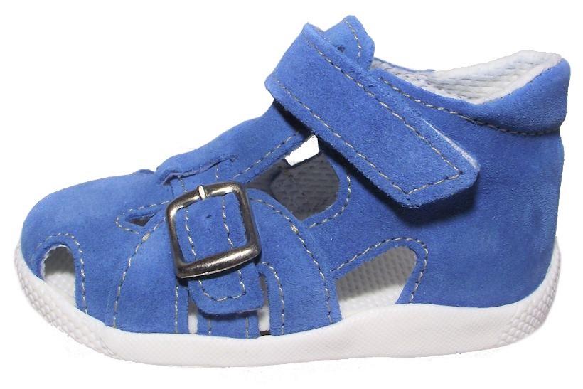 Dětské sandálkové capáčky Jonap 009 modré Velikost: 20 (EU)