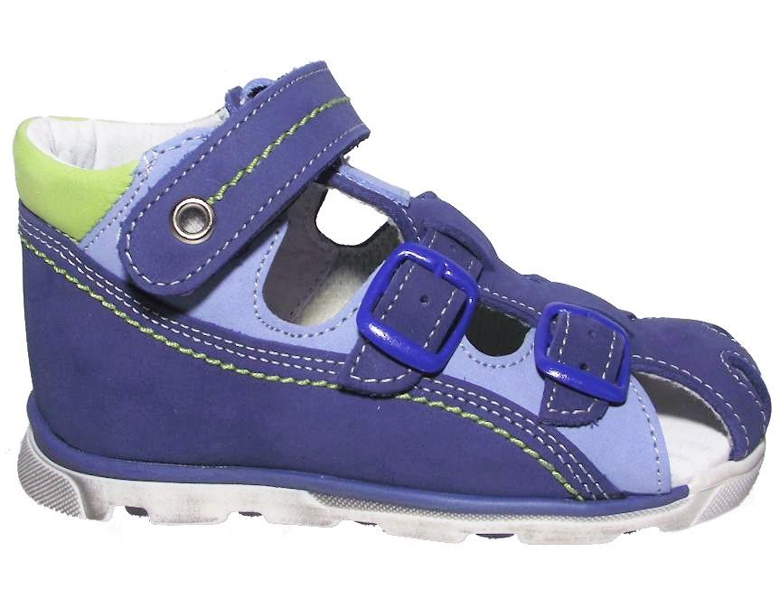Dětské letní sandálky Essi S 1713 modré Velikost: 21 (EU)