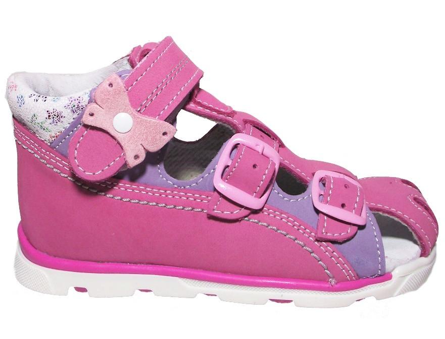 Dětské letní sandálky Essi S 1713 růžové Velikost: 21 (EU)