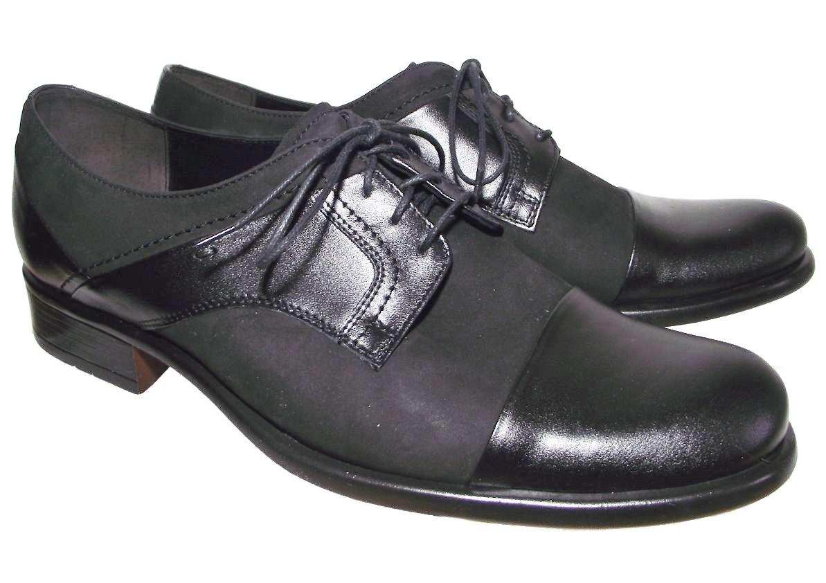 Pánská společenská obuv Barton 51917 černá Velikost: 42 (EU)