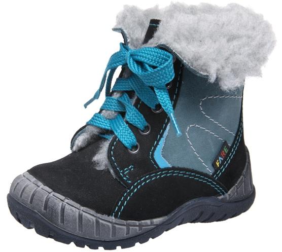Dětské zimní kotníkové boty Fare 2145211 černá Velikost: 20 (EU)