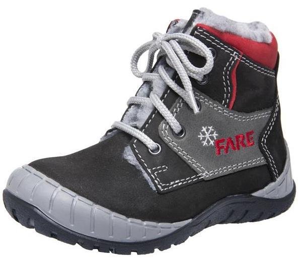 Dětské zimní kotníkové boty Fare 842212 černá Velikost: 25 (EU)