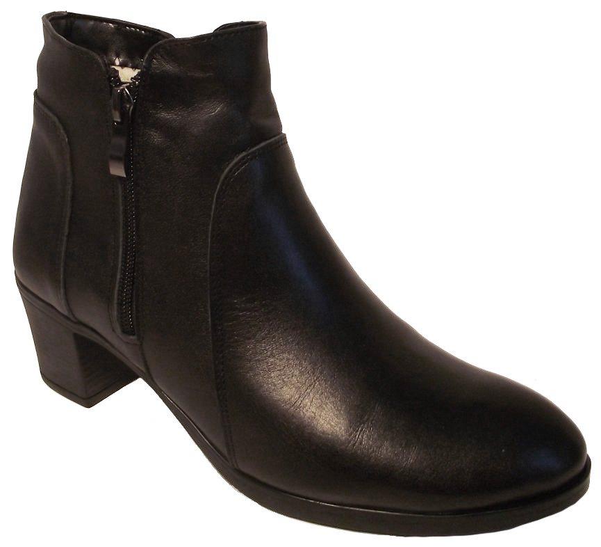 Dámské zimní boty na podpatku Hujo EW 404 černá Velikost: 36 (EU)