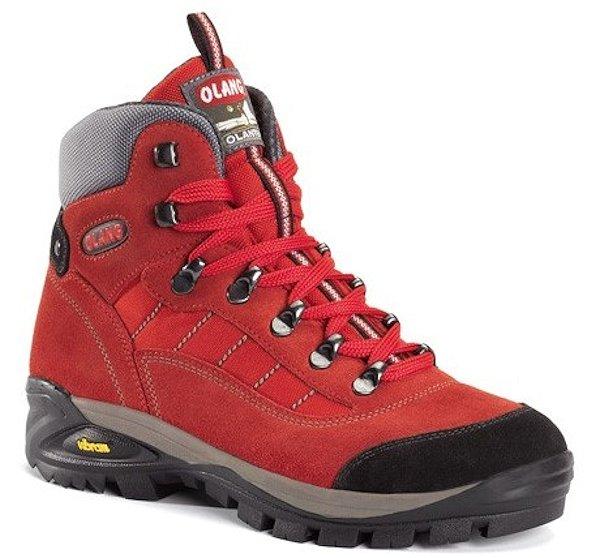 Olang Tarvisio 815 rosso, dámská trekingová obuv Velikost: 38 (EU)