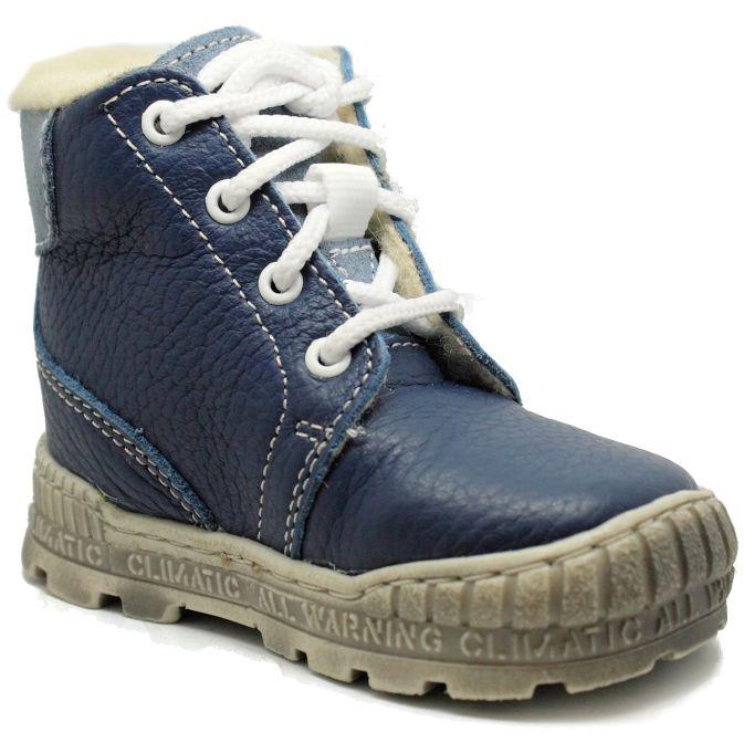 Pegres 1700 modré dětské kotníčkové boty Velikost: 21 (EU)