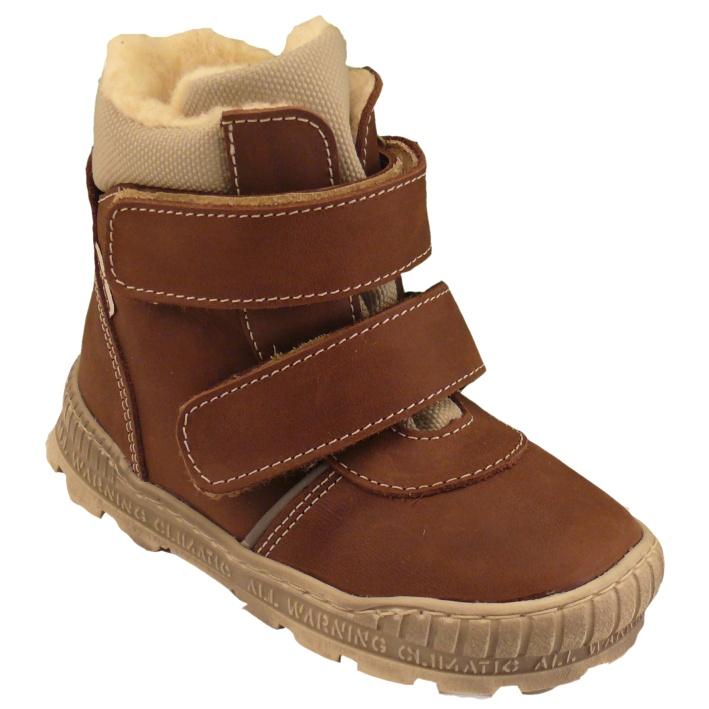 Dětské zimní kotníkové boty Pegres 17122 hnědá Velikost: 32 (EU)