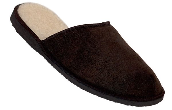 Pánské domácí pantofle Pegres 1111 hnědá Velikost: 43 (EU)