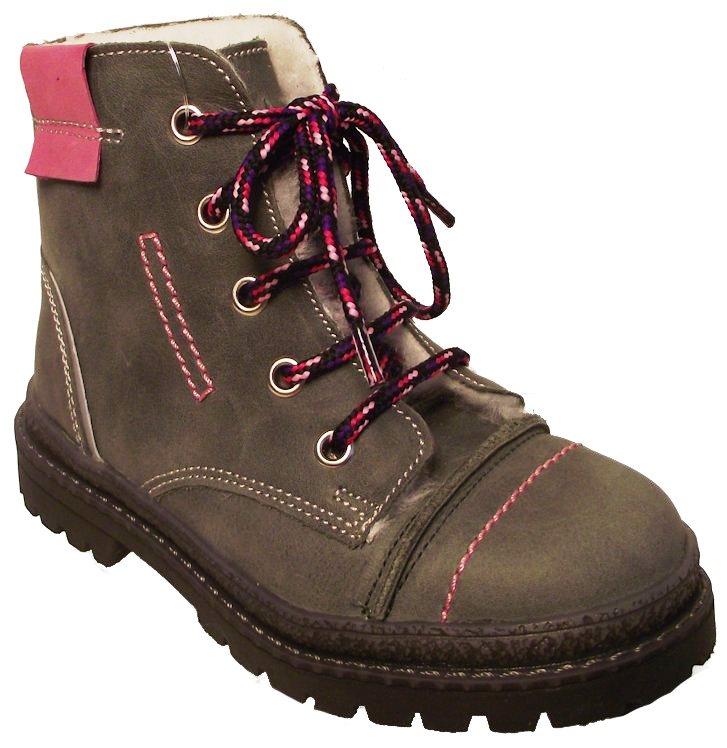 Dětské zimní kotníkové boty Essi S 1579 šedá Velikost: 27 (EU)