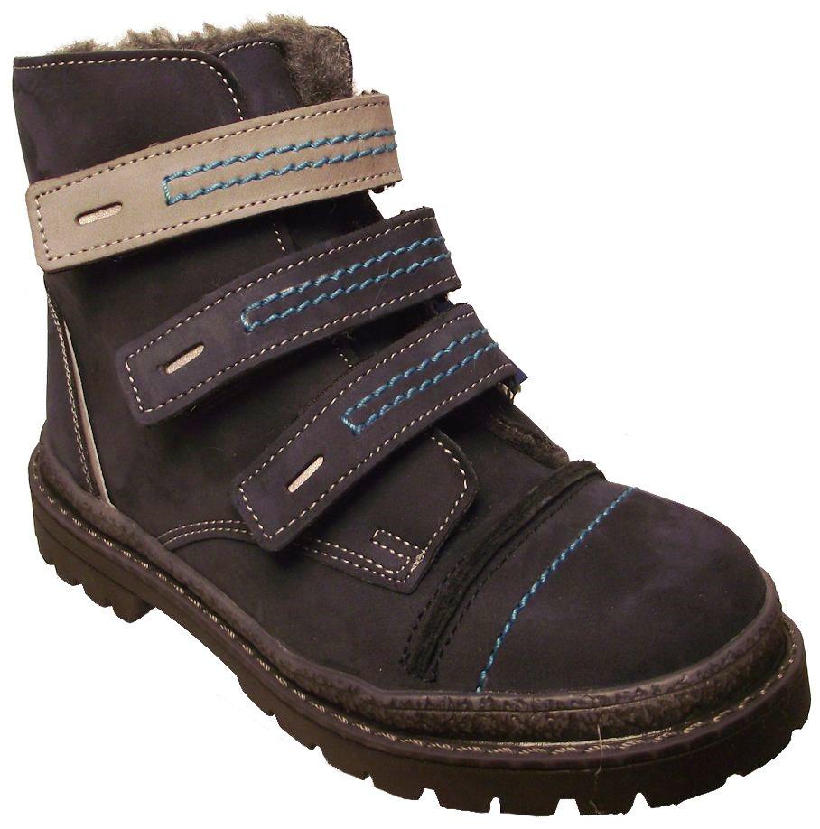 Dětské zimní kotníkové boty Essi S 1580 modrá Velikost: 24 (EU)