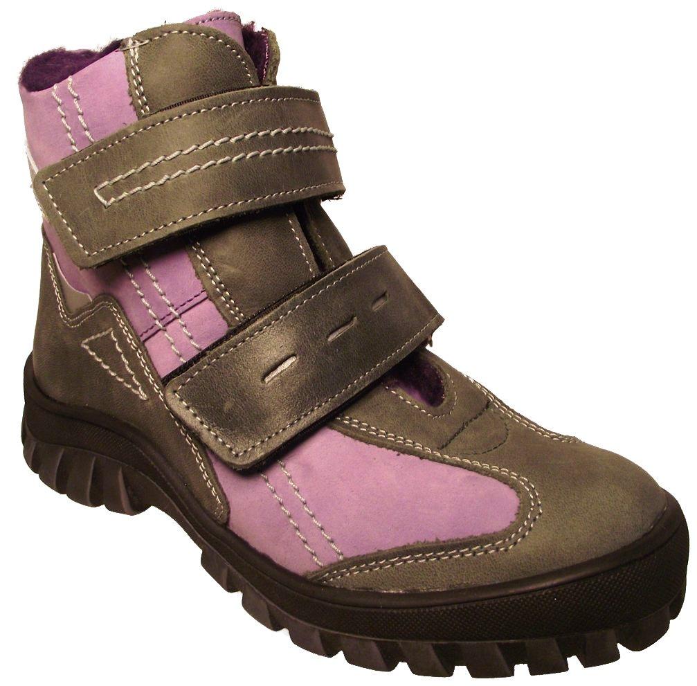 Dětské zimní kotníkové boty Essi S 1562 fialová Velikost: 31 (EU)