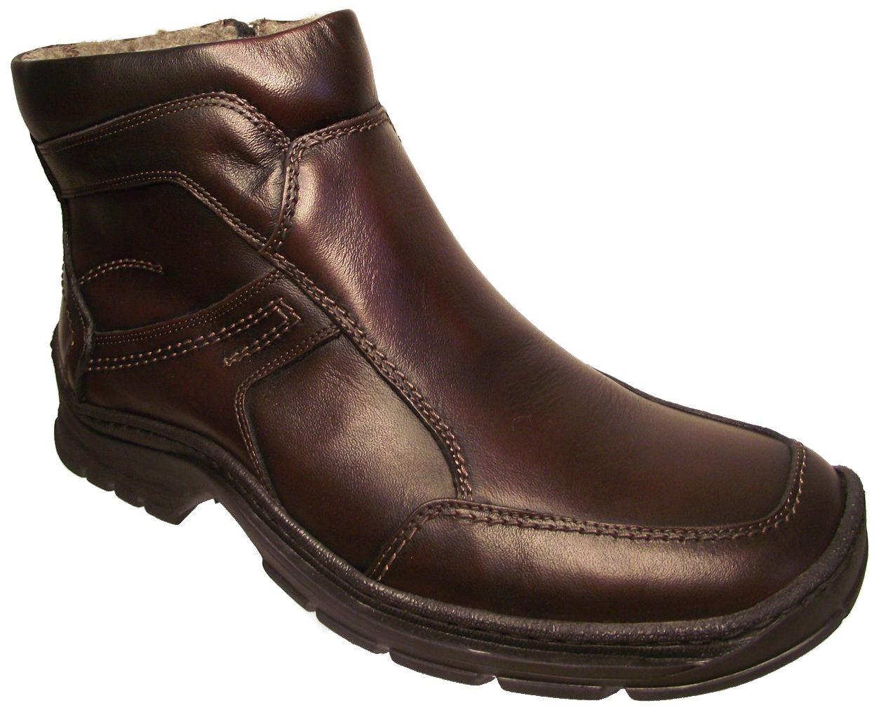 Pánská zimní kotníková obuv Hujo 2286 hnědá Velikost: 46 (EU)