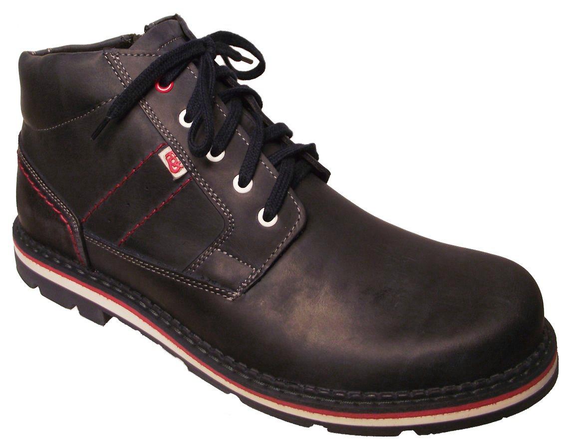 Pánská zimní kotníková obuv Hujo F 0341 modrá Velikost: 45 (EU)