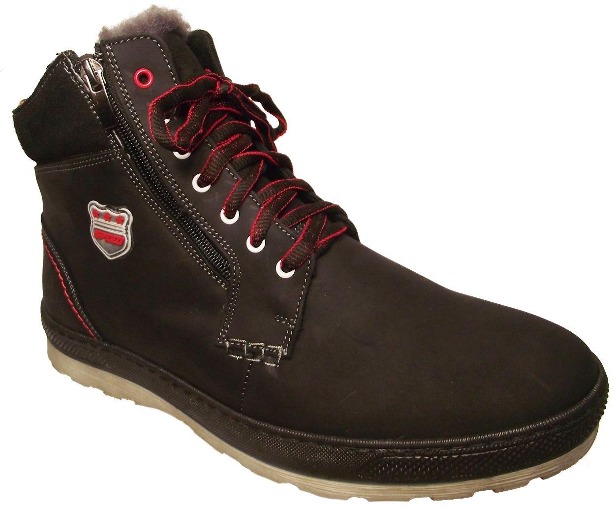 Pánská zimní kotníková obuv Hujo 2569 černá Velikost: 42 (EU)