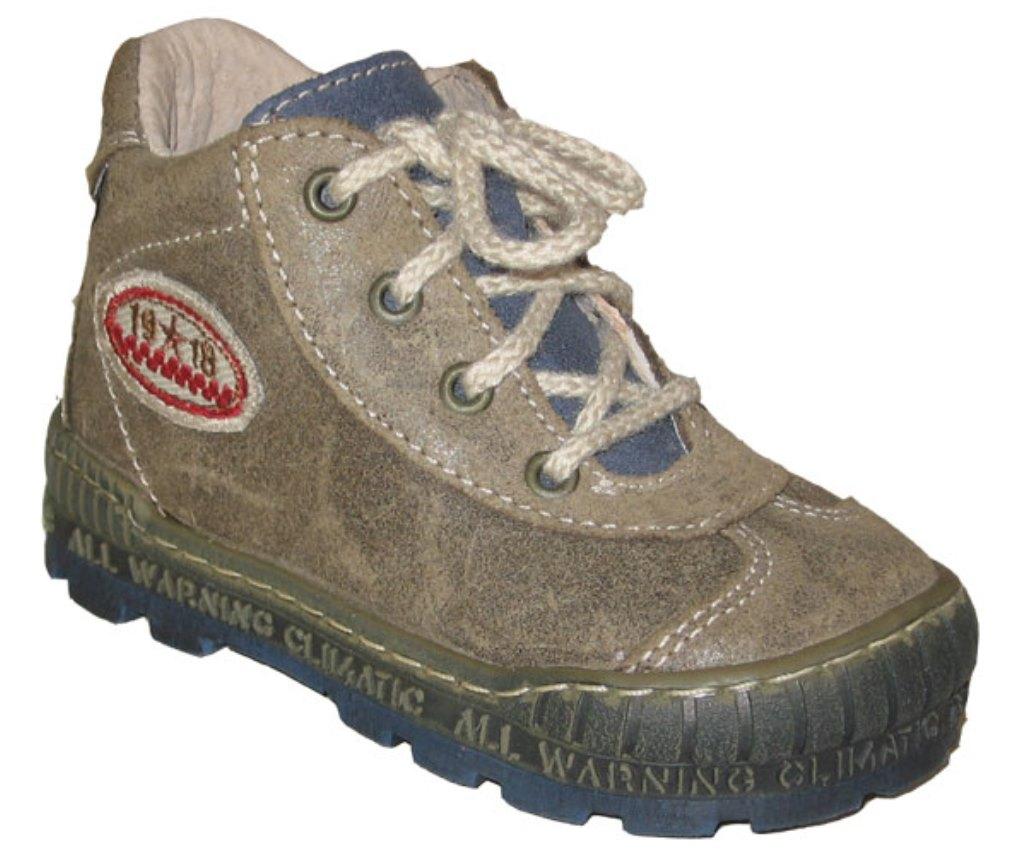 Dětské celoroční boty Pegres 1401 khaki Velikost: 29 (EU)