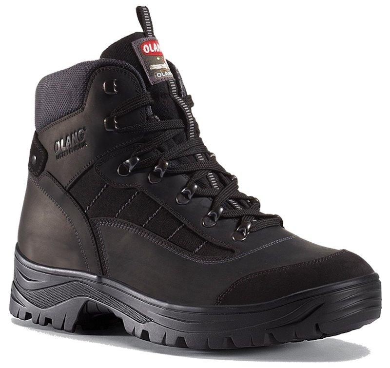 Pánská kotníková treková obuv Olang Nebraska černá Velikost: 44 (EU)