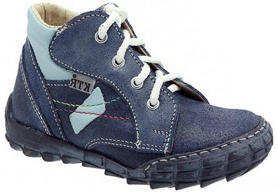 Dětské celoroční boty KTR 163 modrá Velikost: 20 (EU)