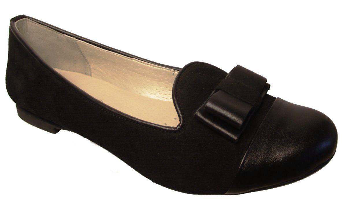 Dámské kožené baleríny Hujo EW 373 černé Velikost: 36 (EU)
