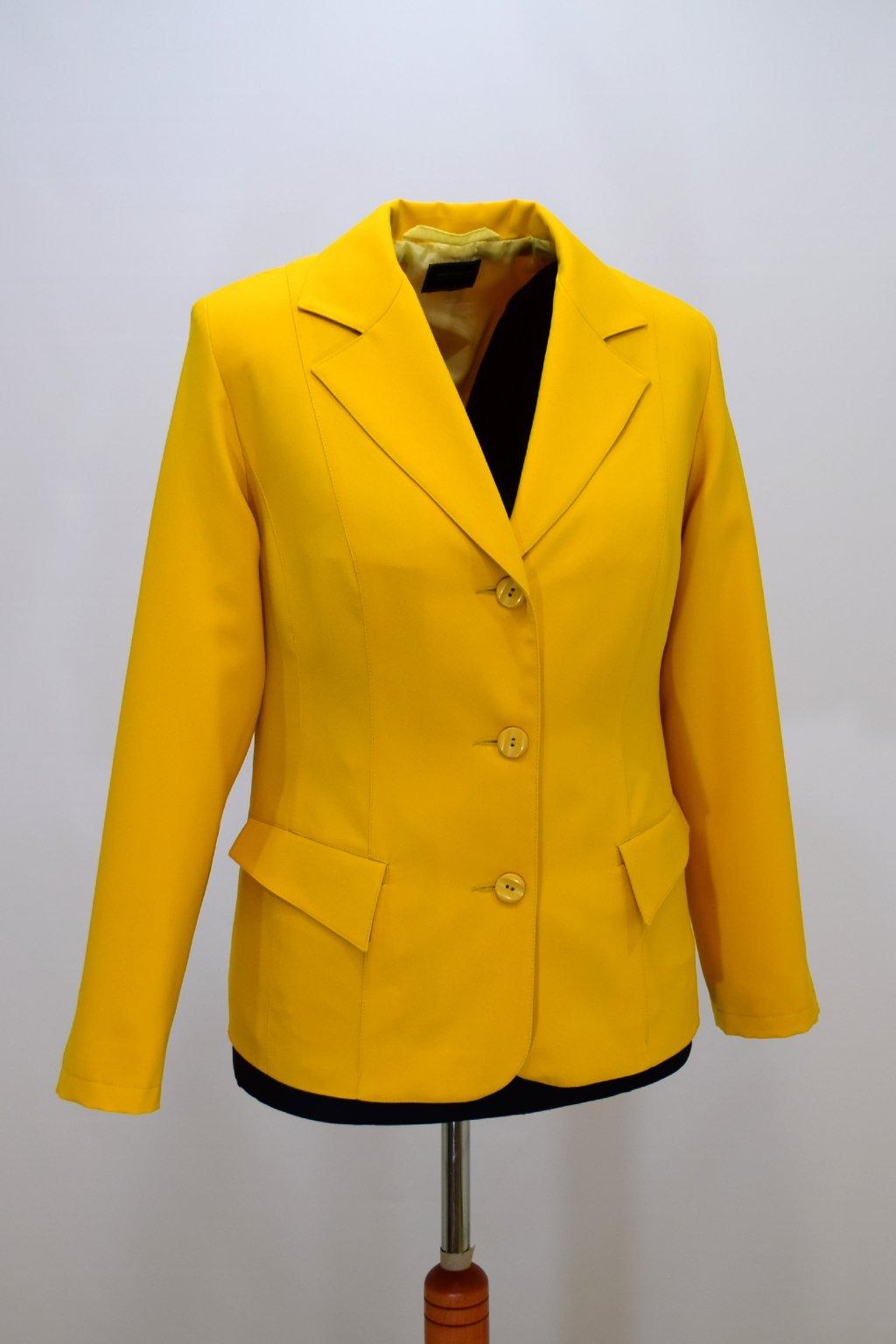 Dámské žluté sako Manon.
