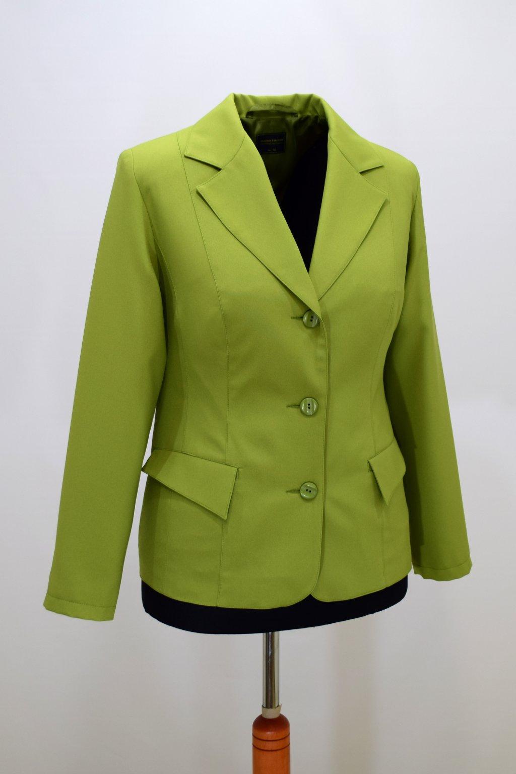 Dámské zelené sako Manon.