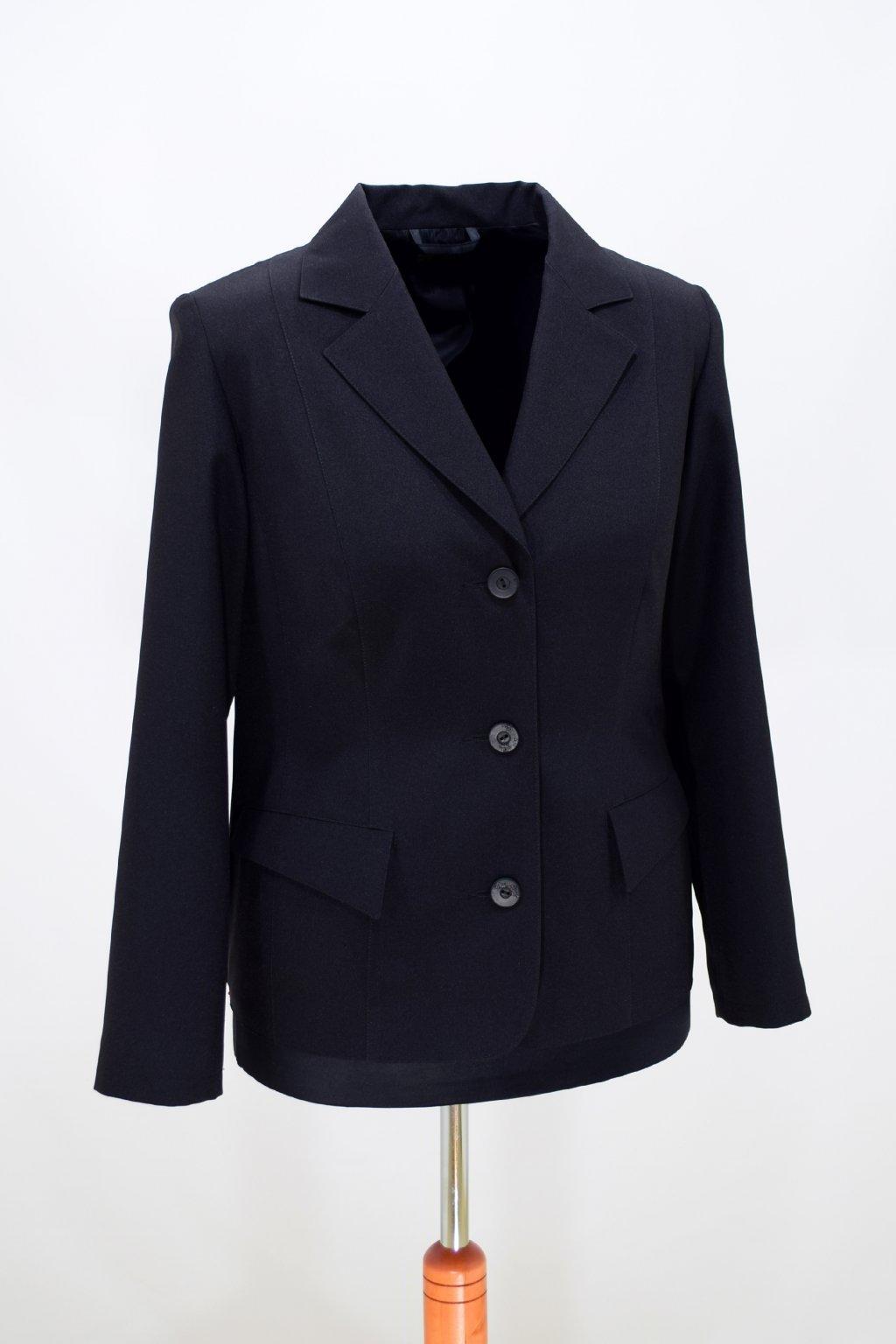 Dámské černé sako Manon.