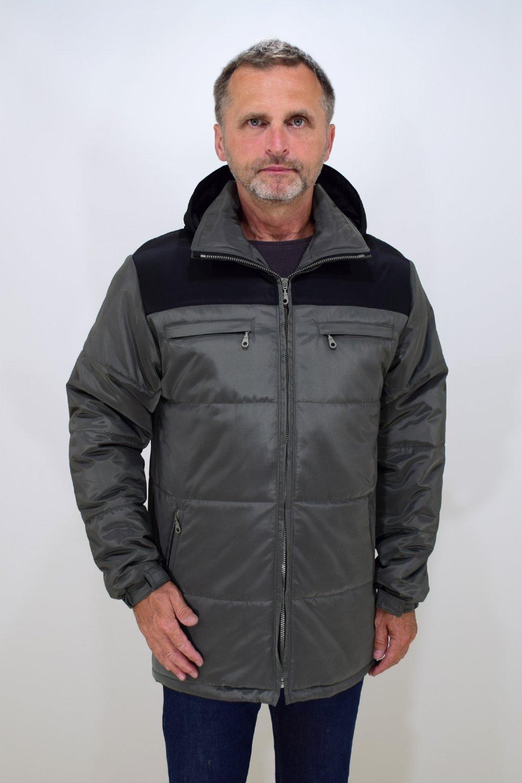 Pánská zimní bunda Filip nadměrné velikosti