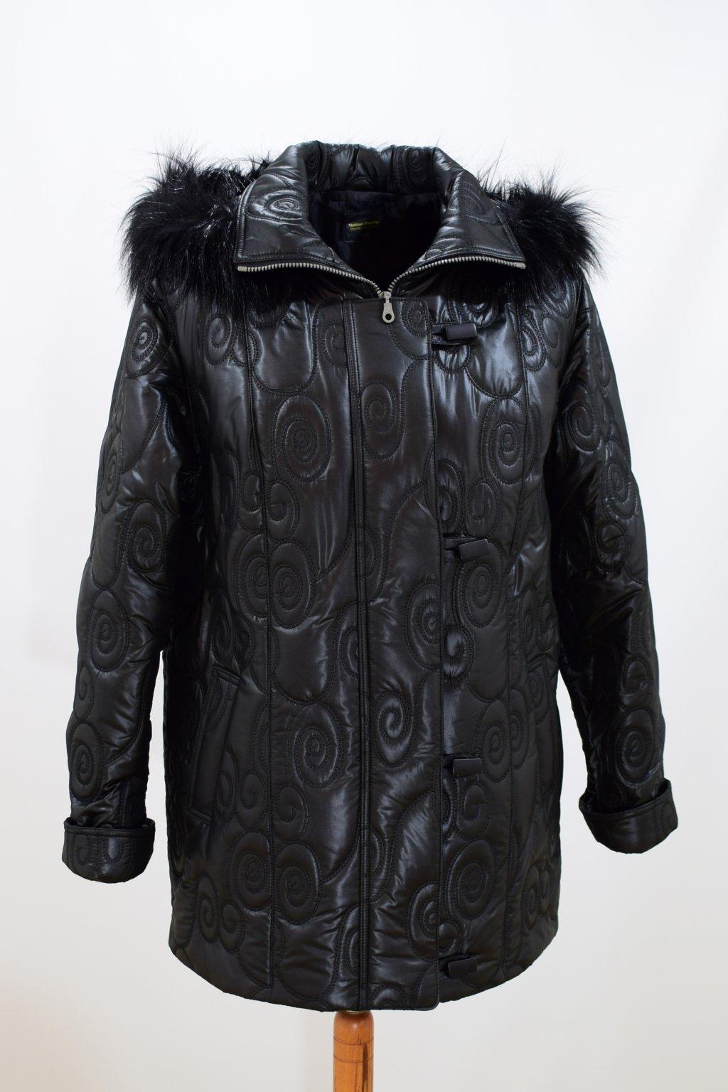 Dámská zimní bunda Monika nadměrné velikosti