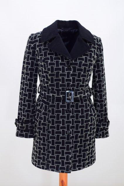 Dámský zimní kabát Rozita nadměrné velikosti.