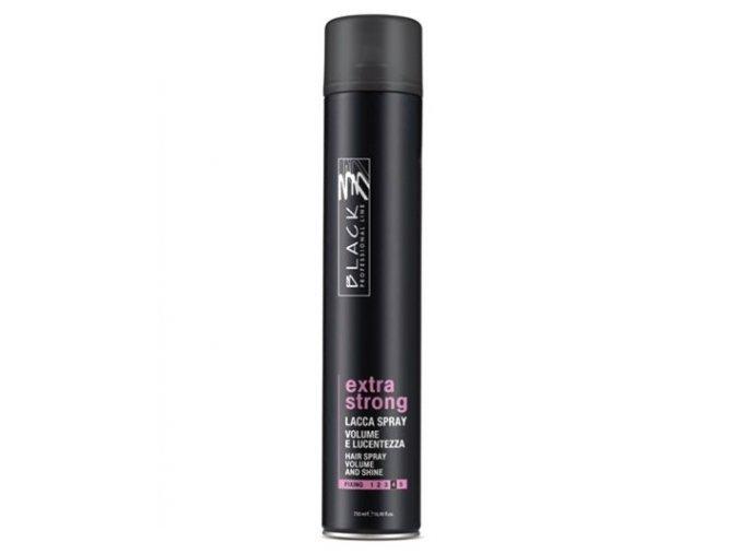 BLACK Styling Extra Strong Spray 750ml - lak na vlasy extra silně tužící