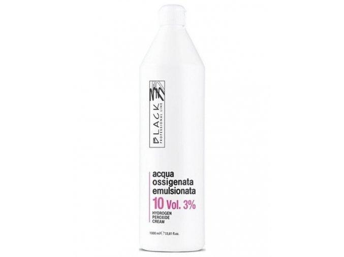 BLACK Professional Krémový 3% peroxid vodíků 1000ml - oxidační krém 10vol