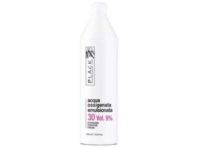 BLACK Professional Krémový 9% peroxid vodíků 1000ml - oxidační krém 30vol
