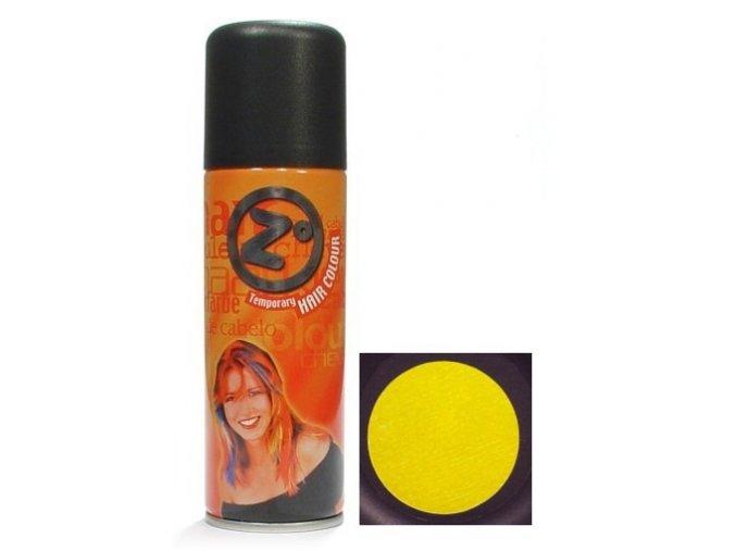 Z GOOD MARK Barva na vlasy ve spreji - Barevný lak na vlasy žlutý
