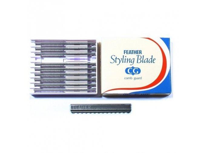 FEATHER Styling Blade - efilační žiletky 1x10ks