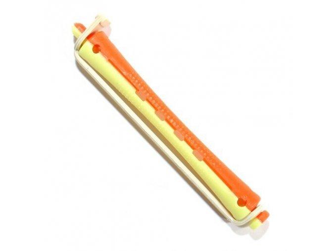 DUKO 1164 Natáčky pro trvalou ondulaci 9mm žluto-červené 12ks
