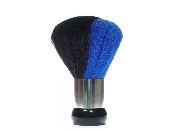DUKO Pomůcky Kadeřnický oprašovák vlasů dvoubarevný - modro černý