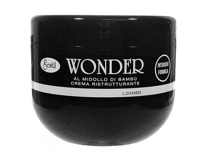 GESTIL-WONDER Regenerační zábalový krém na vlasy - vlasová maska 500ml