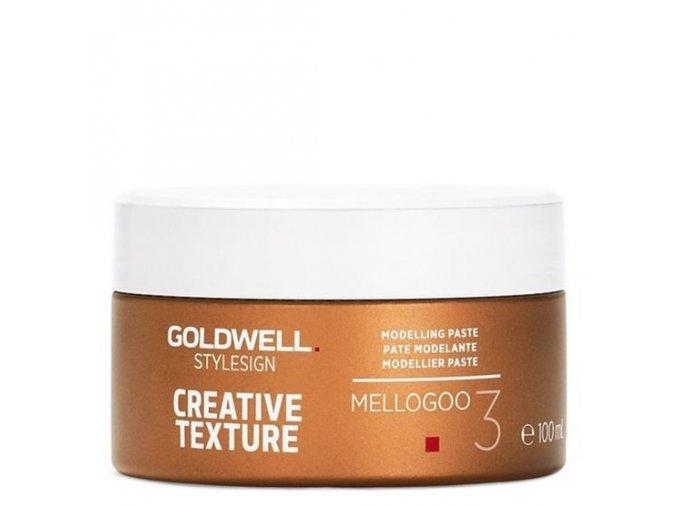 GOLDWELL Texture Mellogoo Modelling Paste 100ml - modelovací pasta na vlasy