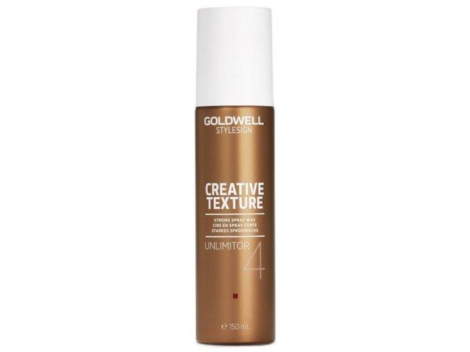GOLDWELL Texture Unlimitor Spray Wax 150ml - vosk na vlasy ve spreji