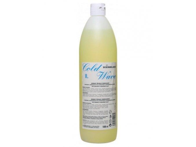 HESSLER Cold Wave 2 - trvalá ondulace na vlasy vlasy barvené a narušené 1000ml