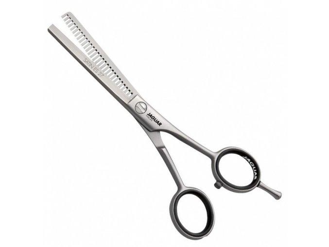 JAGUAR Solingen Satin ES 27 nůžky efilační kadeřnické profi  5,5´ 3455 - 14cm