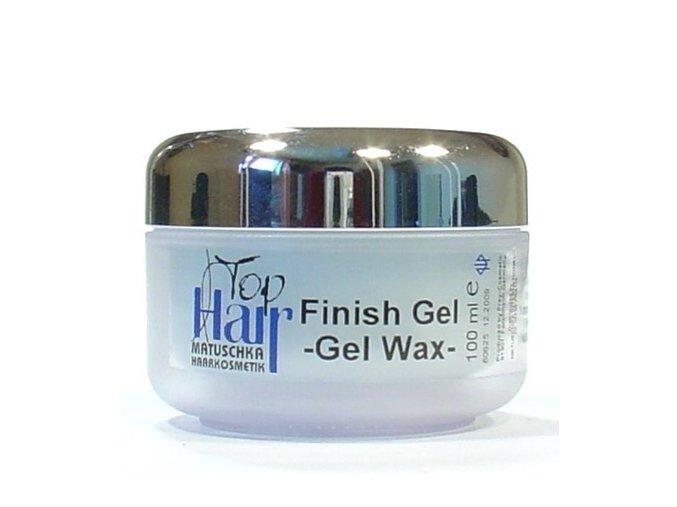 MATUSCHKA Top Hair - Finish Gel Wax Gelový vosk pro konečnou úpravu vlasů 100ml